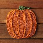Pumpking Dishcloth Pattern