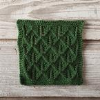 Tree Hunting Dishcloth Pattern