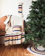 Christmas Stripes Set Pattern