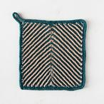 Chevron Tile Dishcloth Pattern