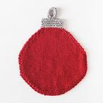 Christmas Bauble Washcloth Pattern