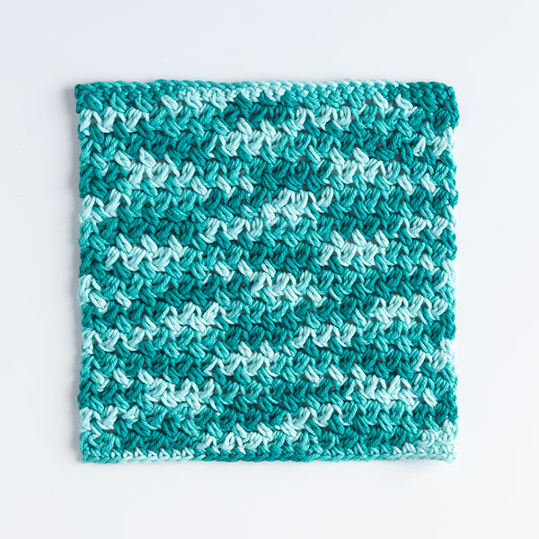 Confused Textures Dishcloth Pattern