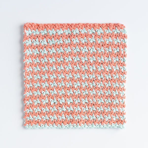 Hipacious Houndstooth Dishcloth Pattern