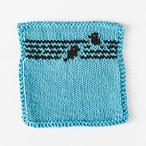 Bird on a Wire Dishcloth Pattern