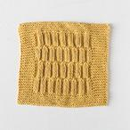 Tucked Rib Dishcloth Pattern