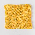 Crochet Celtic Weave Dishcloth Pattern