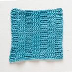 Crochet Rib Dishcloth Pattern