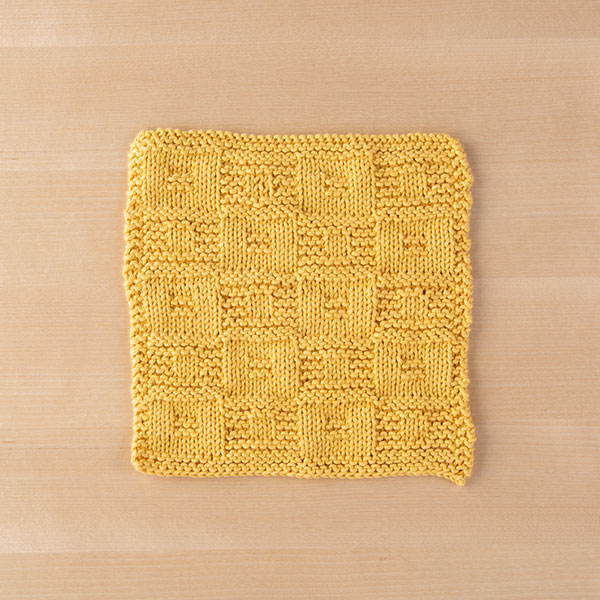 Bandera Dishcloth Pattern