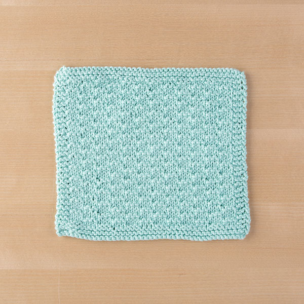 Saut Dishcloth Pattern