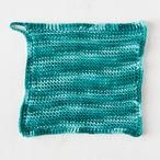 Tunisian Purl Stitch Dishcloth Pattern