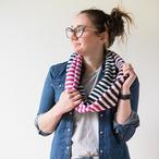 Candy Stripes Scarf Pattern