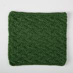 Welted Leaf Dishcloth Pattern