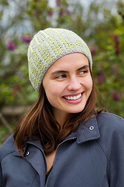 Cozy Lines Hat Pattern
