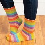 Teenage Kicks Socks Pattern