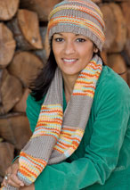 Learn to Knit Hat & Scarf Pattern Pattern