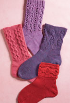 Show Off Socks Pattern Pattern