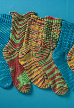 Flash Dance Socks Pattern Pattern