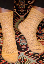 Khotan Socks Pattern
