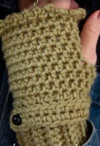 Romantic Fingerless Gloves Pattern Pattern