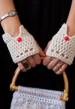 Vintage Driving Gloves  Pattern Pattern