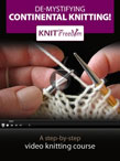 Learn to Knit Continental Video eBook