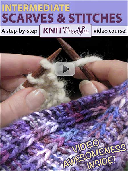 Intermediate Scarves & Stitches Video eBook