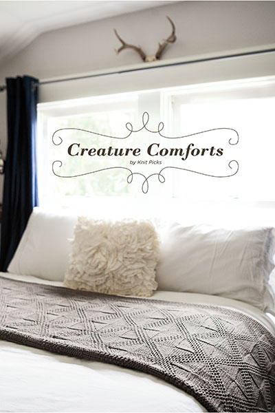 Creature Comforts Collection eBook: Handmade Knits for the Home