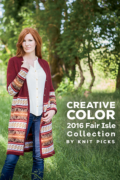 Creative Color: 2016 Fair Isle Collection eBook