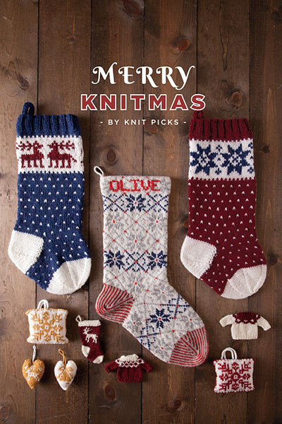 Merry Knitmas eBook: 14 Projects for a Handmade Holiday