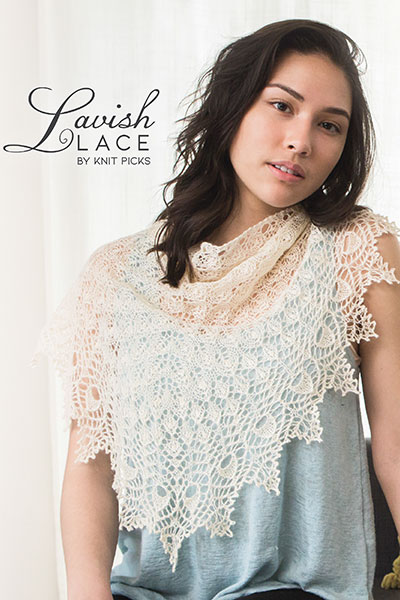 Lavish Lace eBook: Advanced Lace Shawl Patterns