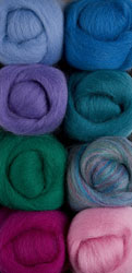 Summer Bouquet Wool Roving Pack