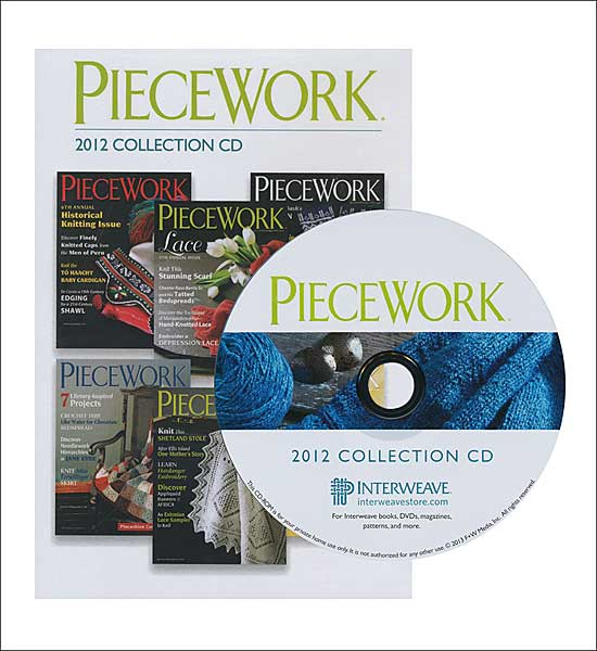 Piecework Magazine 2012 Collection CD