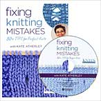 Fixing Knitting Mistakes DVD - Interweave Knits Workshop