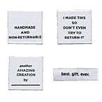 Sassy Labels - set of 8 Square