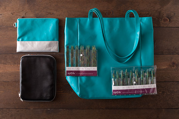 Caspian Accessories Kit - Black + Teal
