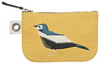 Chirp Small Zipper Pouch