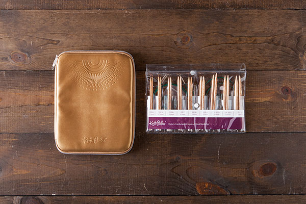 Interchangeable Needle Set and Embossed Case  - Sunstruck