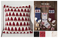 Merry Knitmas Santa Pillow Kit