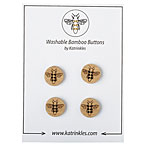 Bee Stitchable Buttons