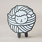 Shep the Sheep Enamel Pin