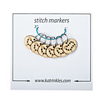 Stitchable Sheep Stitch Markers With Rings