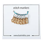 Mitten Stitch Markers With Ring