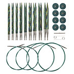 Options Interchangeable Caspian Circular Knitting  Needle Set