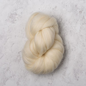 Bare Wool of the Andes Roving