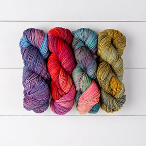 Yarn Review: Knit Picks Hawthorne Fingering - Multi & Kettle Dyed